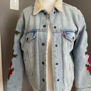 Levi's embroidered Denim Jacket